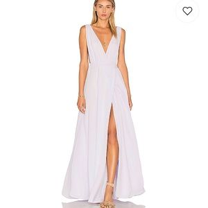 NEW NWT Leah Gown Lavender Lovers + Friends 4